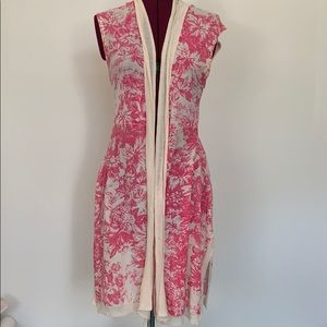 Anthropologie Guinevere sleeveless sweater pink